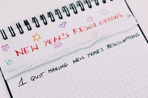 Made your New Year's resolutions?